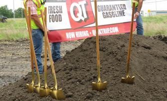 Quik Trip Ground Breaking