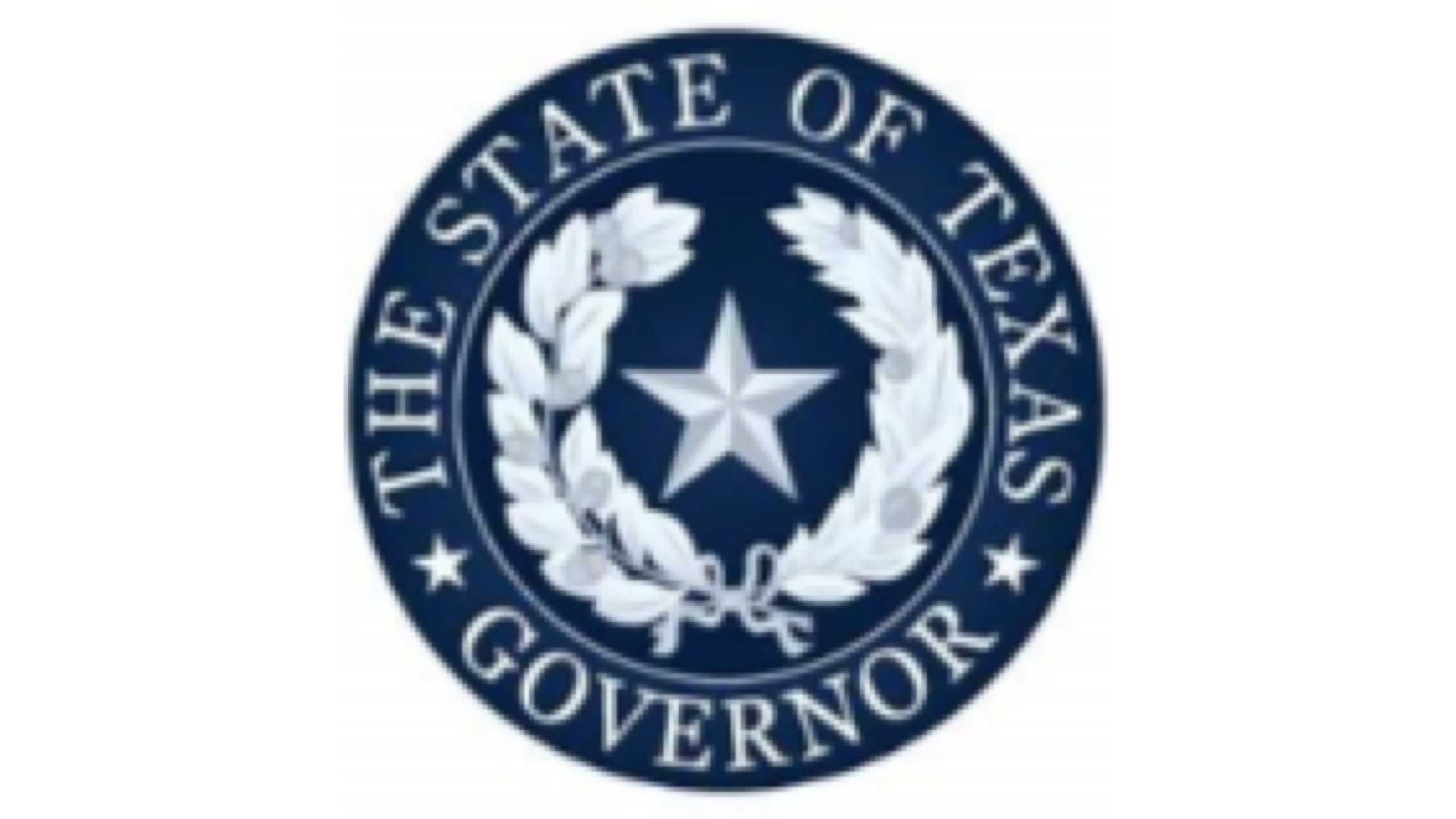 Governor's Seal on 16:9 white background