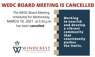 Newsflash - Cancelled Meeting